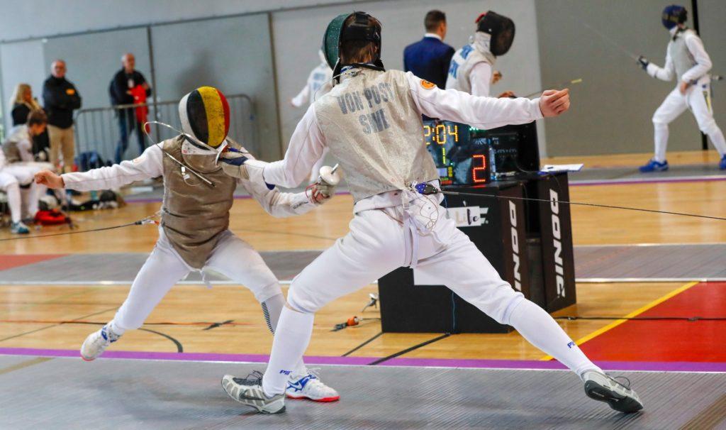 Fleuret Belgium Porec Fencing escrime