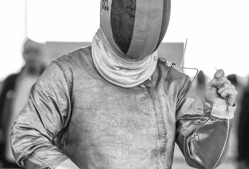Sabre Escrime Sabre Noir Maël Prossé