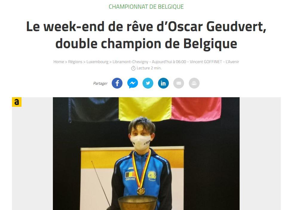 Oscar champ bel